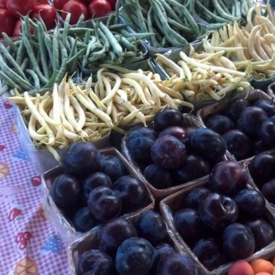 Fresh produce at the Bellaire Farmers Market
