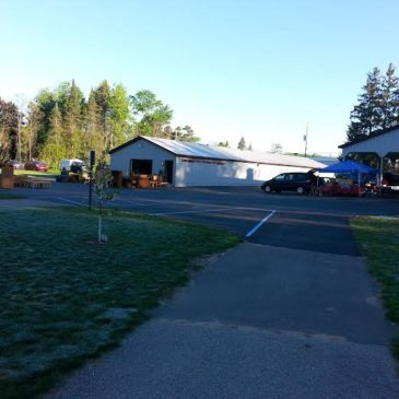 Your Non-Profit Community Center & Park Hard At Work!!