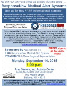 2015-09-14 SEMINAR ResponseNow - Bob Monto