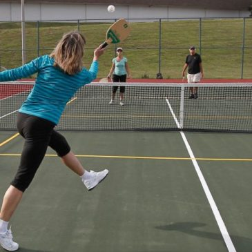 Pickleball Clinic in Conjunction with Open House!