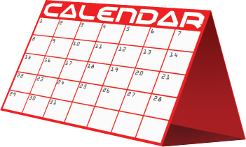 October 2015 Calendar of Events!