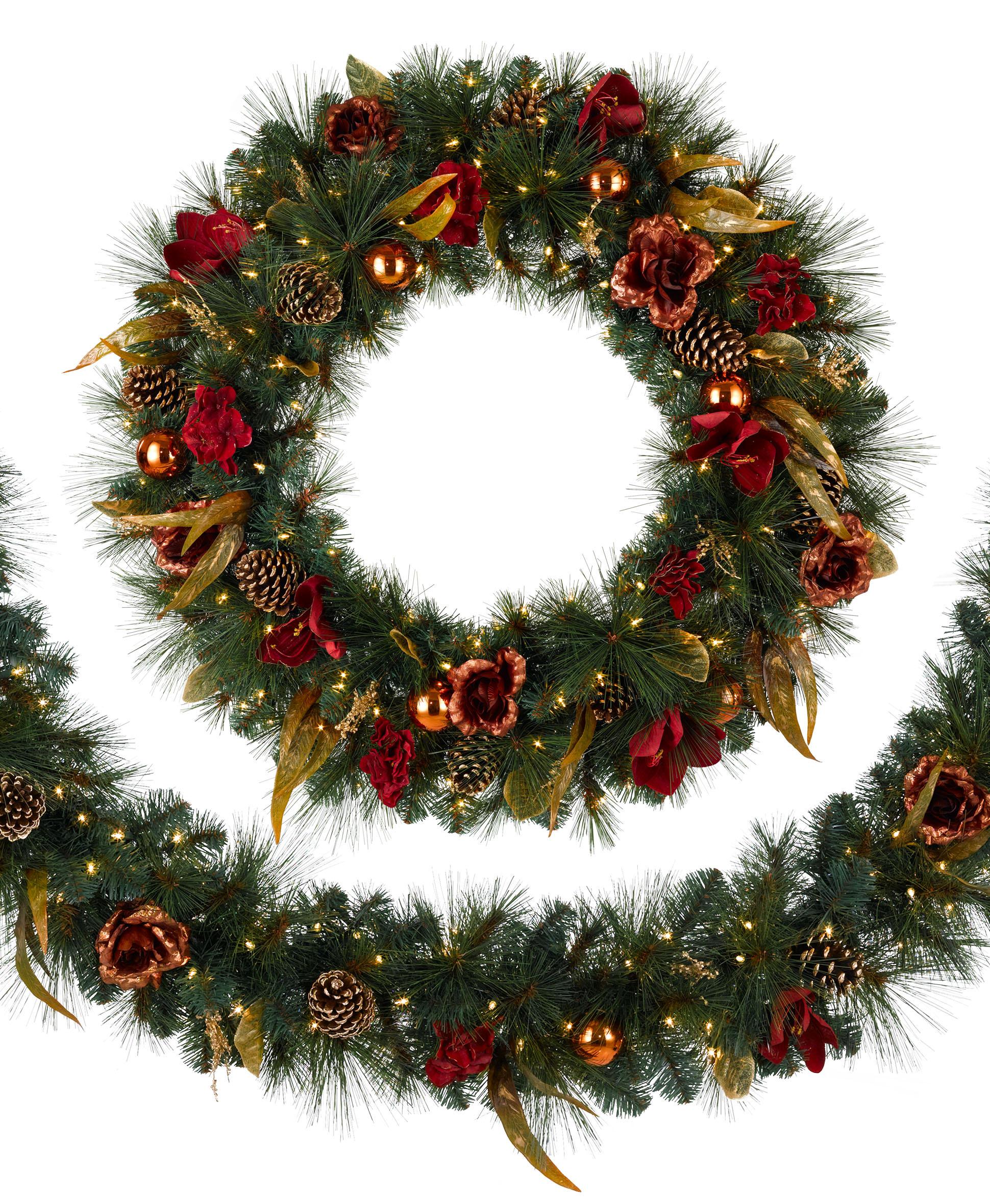 christmas wreath 001 - Christmas Garland Decorations Sale