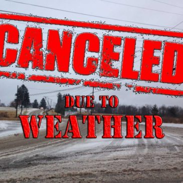YOGA CANCELLED FOR TODAY!!  1-4-2017